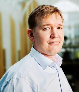 Fredrik Olsson, vd Genovis